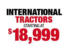 Used Tractors Reduced